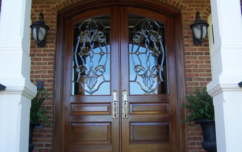 Front Door Beveled Glass